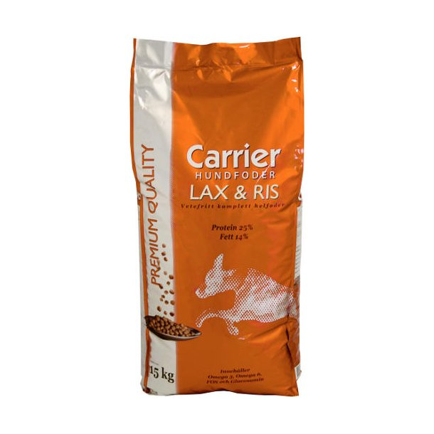 Carrier laks og ris