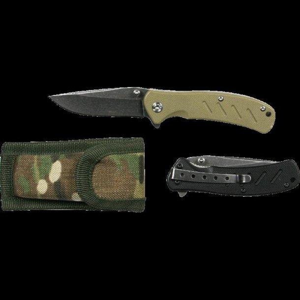 Web-Tex Warrior Knife - Multicam 65 mm blad.