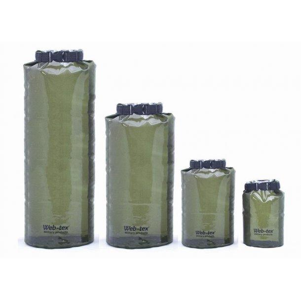 Dry sack - Dry pack - vandtæt pose-4 størrelser