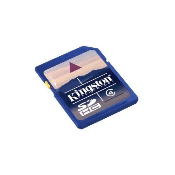 SD-kort 8 GB Kingston Secure Digital HighCapacity.